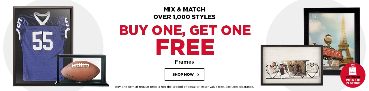 Mix & Match. Buy One Get One Free Frames