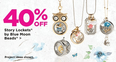 40% Off Story Lockets® by Blue Moon Beads