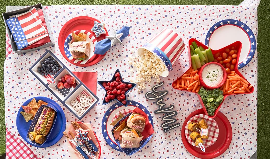 Red White & Blue Party Supplies
