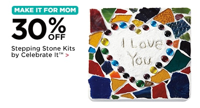 30% Off Stepping Stone Kits by Celebrate It