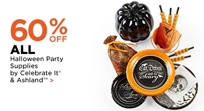 60% OFF Halloween Party Supplies by Celebrate It® & Ashland