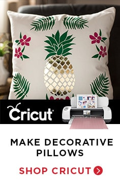 Make Decorative Pillows - Shop Cricut