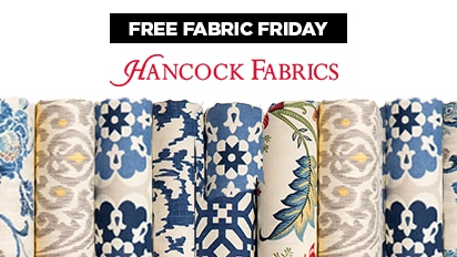 Today & Online Only Buy 3 Yards, Get One Yard Free Home Décor Fabrics