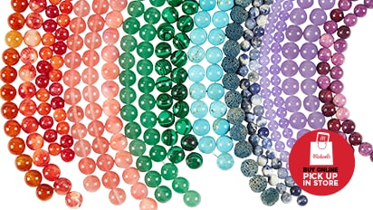 70% OFF Green Label Strung Beads Reg. 5.99 Each. Buy Online Pick Up In-Store