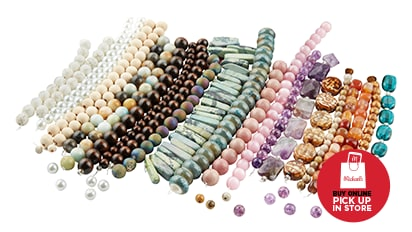 Buy 1, Get 1 FREE ALL Strung Beads. Buy Online Pick Up In-Store