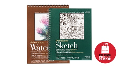 BUY ONE, GET ONE 50% OFF Strathmore® & Canson® Artist Paper Pads. Buy Online Pick Up In-Store