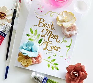 Mother's Day &quo;Best. Mom. Ever.&quo; Card