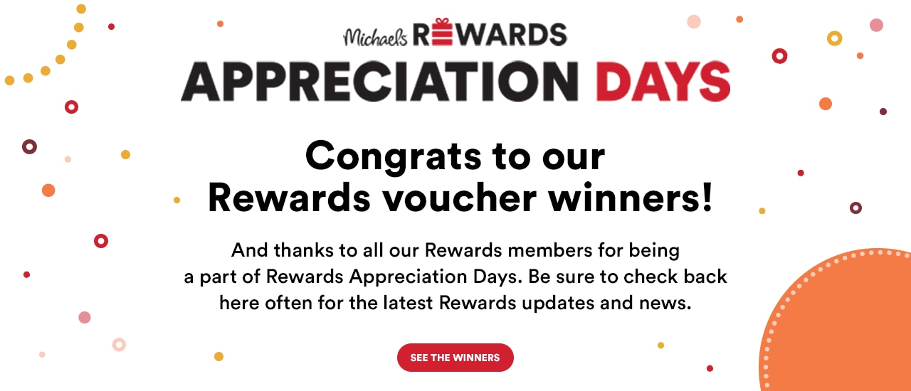 Congrats to our Rewards voucher winners! See the winners!