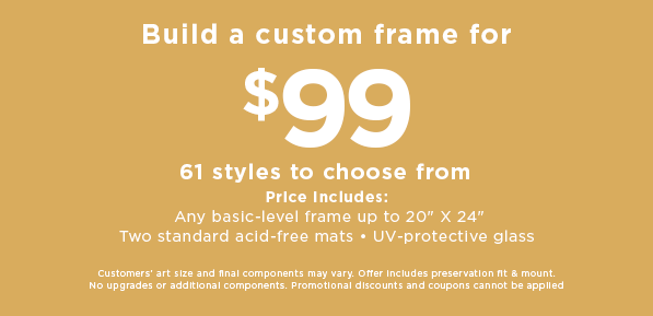 mothers day cf offer build a custom frame for 99