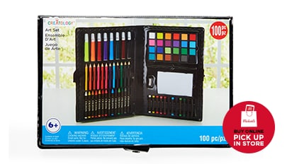 $2 EACH 100 pc. Art Set by Creatology™. Buy Online Pick Up In-Store