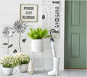 Sping Décor Pieces