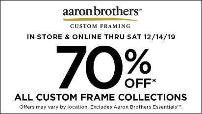 70% OFF Entire Custom Frame Collection