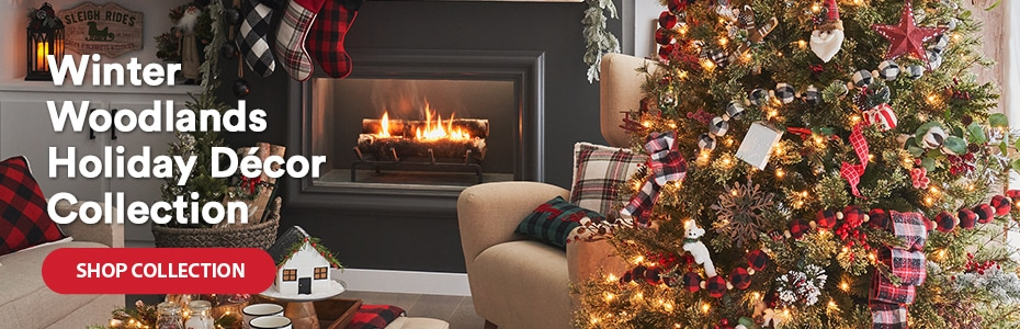 Winter Woodlands Holiday Décor Collection. Shop collection