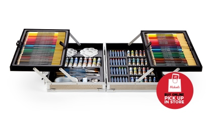 [Save 34.99] $25 EACH 126 pc. All Media Art Set. Buy Online Pick Up In-Store