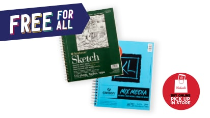 Buy 1, Get 1 FREE ALL Strathmore® & Canson® Artist Paper Pads. Buy Online Pick Up In-Store