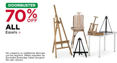 DOORBUSTER 70% OFF ALL Easels