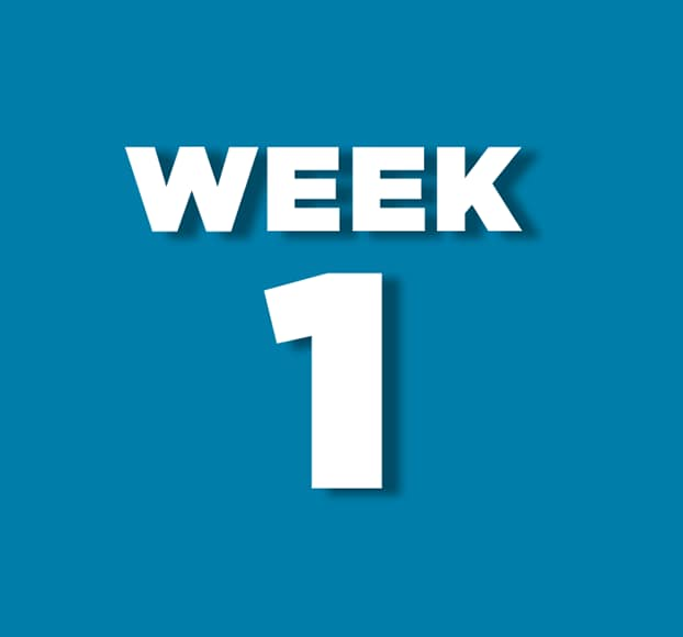 Week 1 theme to be announced