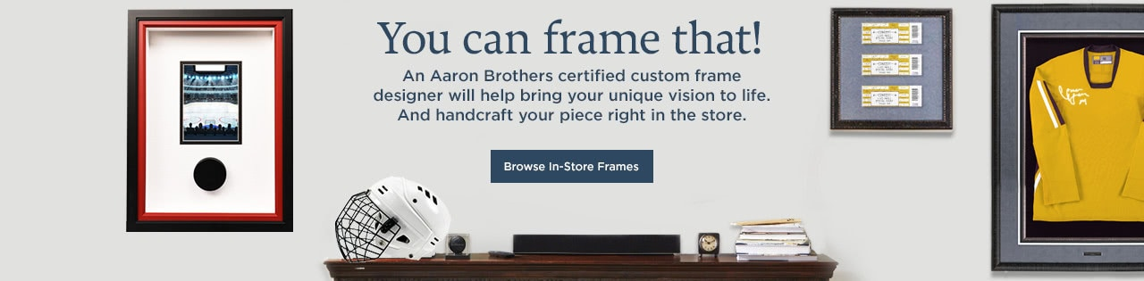 Enchanting Aaron Brothers Custom Framing Ideas - Picture Frame ...