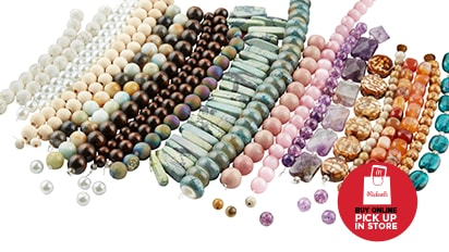 50% OFF ALL Strung Beads. Buy Online Pick Up In-Store