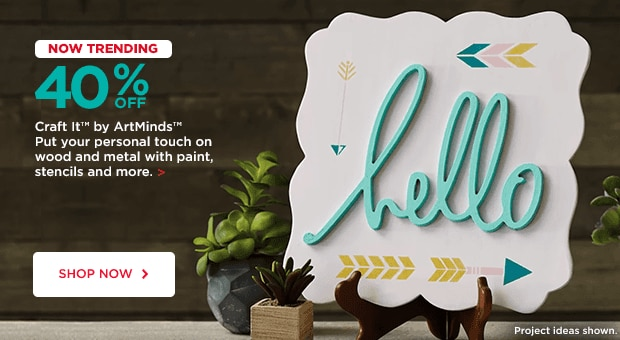40% Off Craft it by ArtMinds
