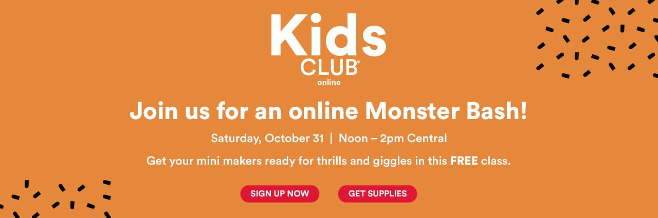 Join us for an online Monster Bash!