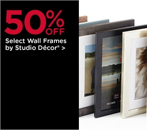 50% OFF Select Wall Frames by Studio Décor