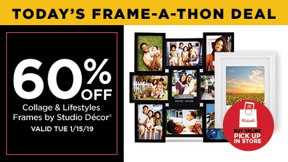 60% OFF Collage Frames & Lifestyles Frames by Studio Décor®