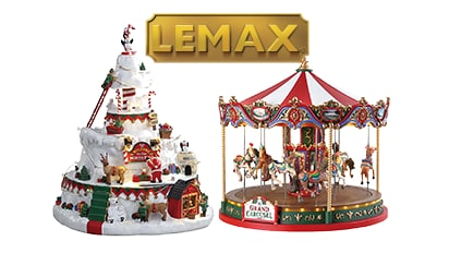 50% OFF ALL Lemax® Christmas Village Collections