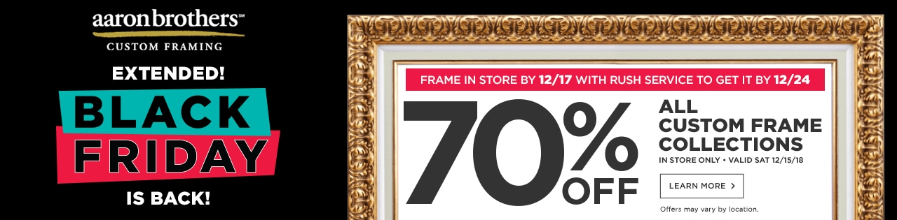 Custom Frame 70% OFF All Custom Frame Collections (Expedited)