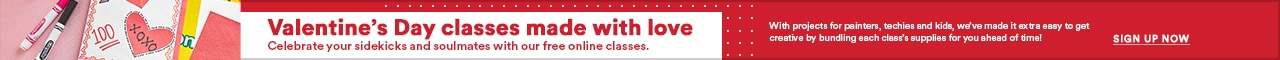 Valentine's Day Classes Made With Love