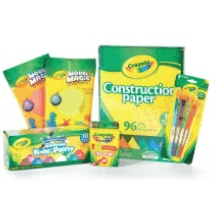 Entire Stock Crayola Buy 1 Get 1 50% Off