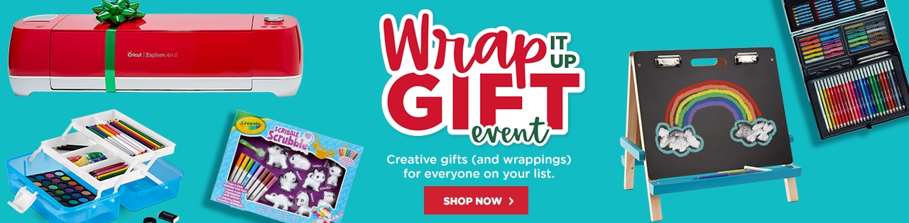 Wrap It Up Gift Event