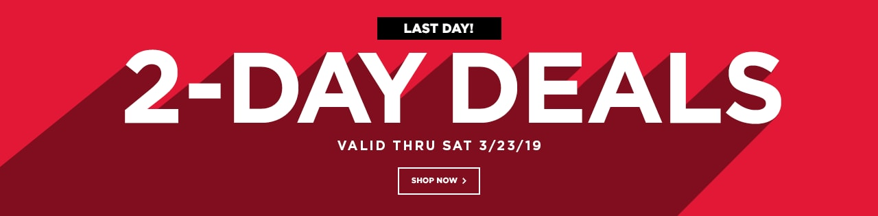 2-Day Deals - LAST DAY!