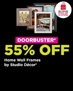 DOORBUSTER! 55% OFF Home Wall Frames. Buy Online Pick Up In-Store