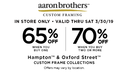 65% When You Buy One | 70% When You Buy Two or More