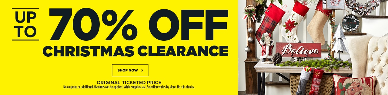 Up to 70% OFF Christmas Clearance
