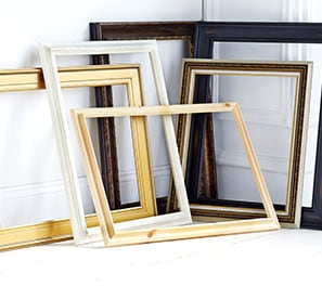 Open Back Frames