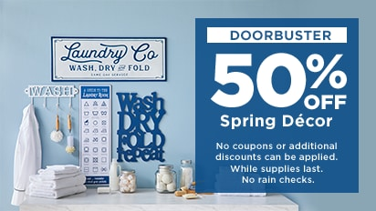 50% OFF Spring Decor