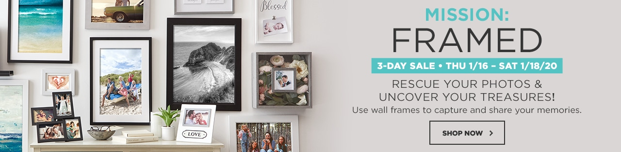 Mission Framed. Rescue Your Photo & Uncover Your Treasures!