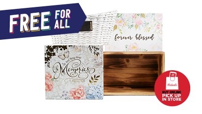 Buy 1, Get 1 FREE Spring Baskets & Decorative Boxes. Buy Online Pick Up In-Store