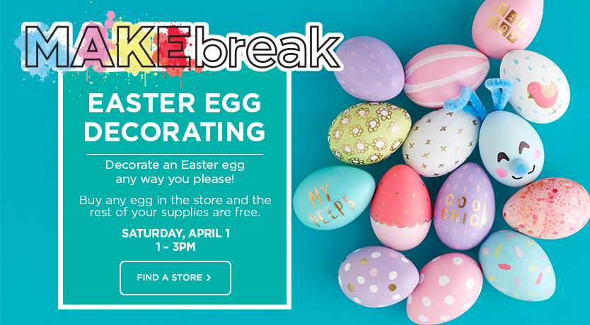 Easter Family Event April 1