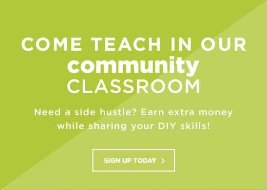 Come teach in our Community Classroom