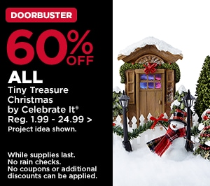 60% OFF ALL Tiny Treasure Christmas by Celebrate It
