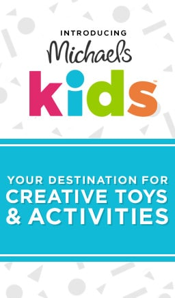 Introducing Michaels Kids: Your destination for creative toys and activities