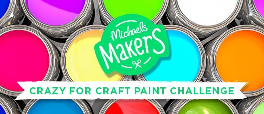 Crazy For Craft Paint Challenge