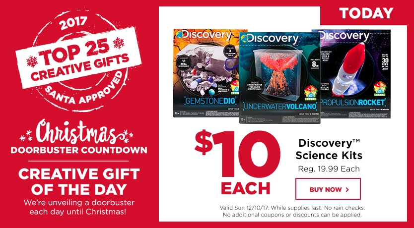 Countdown To Christmas 10 Discovery Kids Kits