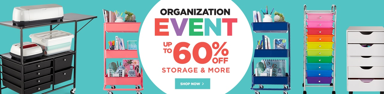 Organization Event – Up to 60% OFF Storage & More