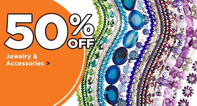 50% Off Jewelry & Accessories