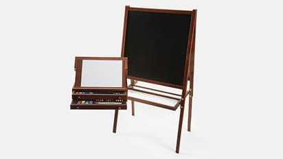 Deal Dash! 40% OFF 103 pc. Art Set & Kid's Wooden Easel by Creatology® Reg. $50- $70