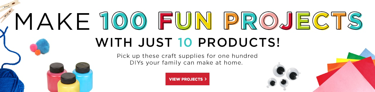 Make 100 Fun Projects With Just 10 Products